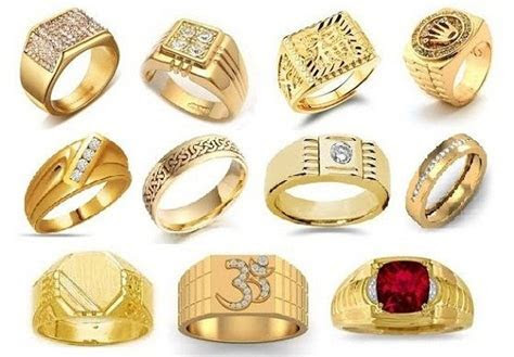25 Simple and Heavy Indian Gold Rings Designs for Men 2019