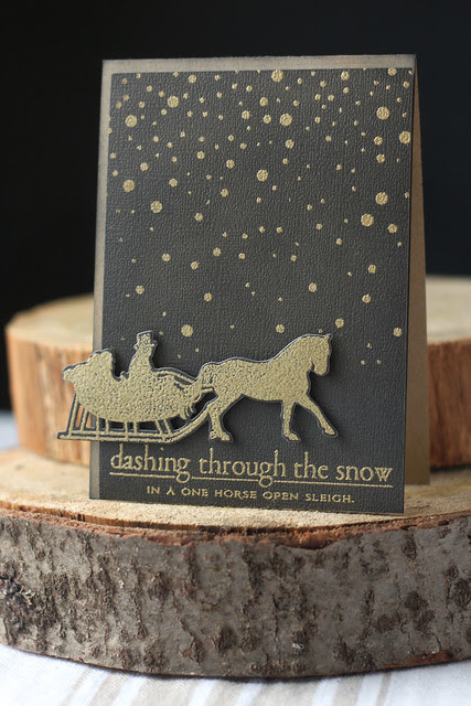 dashing through the snow...