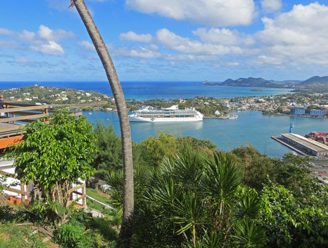 Port of St. Lucia - Cruise Ship Terminals in Castries