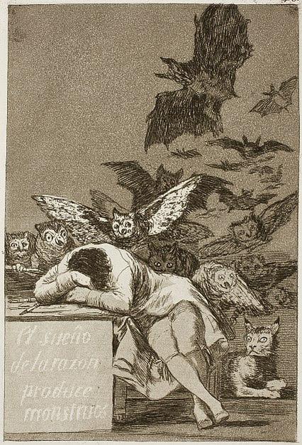File:Museo del Prado - Goya - Caprichos - No. 43 - El sueño de la razon produce monstruos.jpg