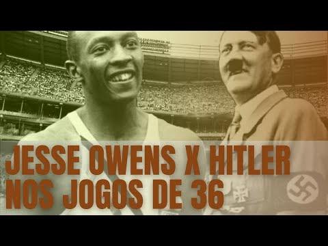 O não boicote a Olímpiada de Hitler e o feito de Jesse Owens