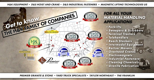 The H&K Family of Companies: Meeting all your material handling needs.
