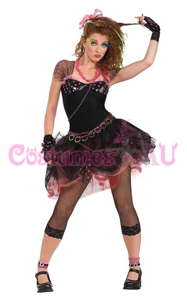 madonna wild child pop diva 80s costume 1980s fancy dress