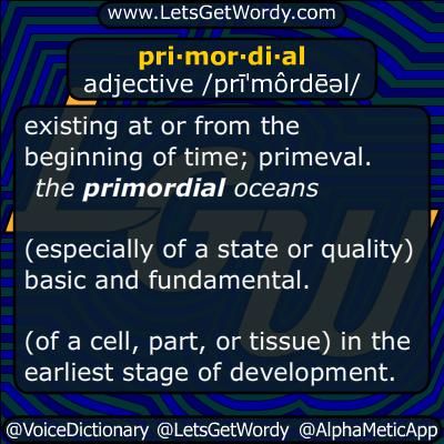 primordial 06/22/2015 GFX Definition