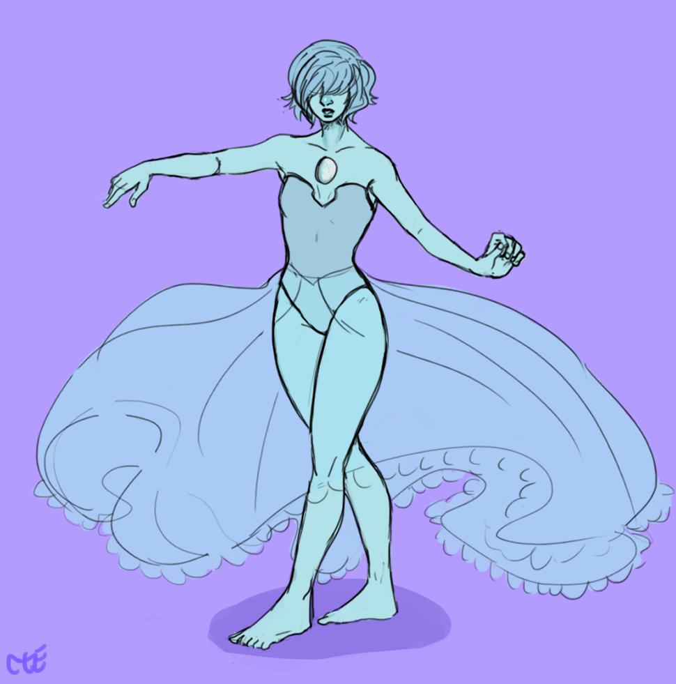 blue pearl doodle