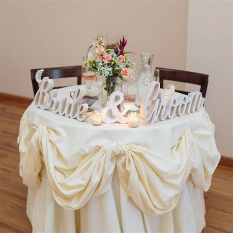 """""""Bride & Groom"""" Wedding Signs ? Z Create Design"""