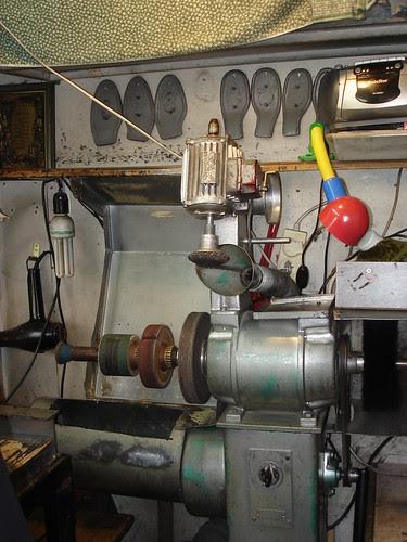 Meir's shoe-repair stall 4