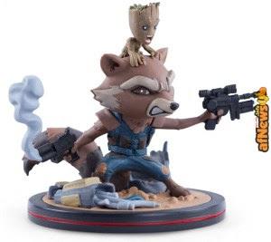 Rocket e Groot: statuetta!