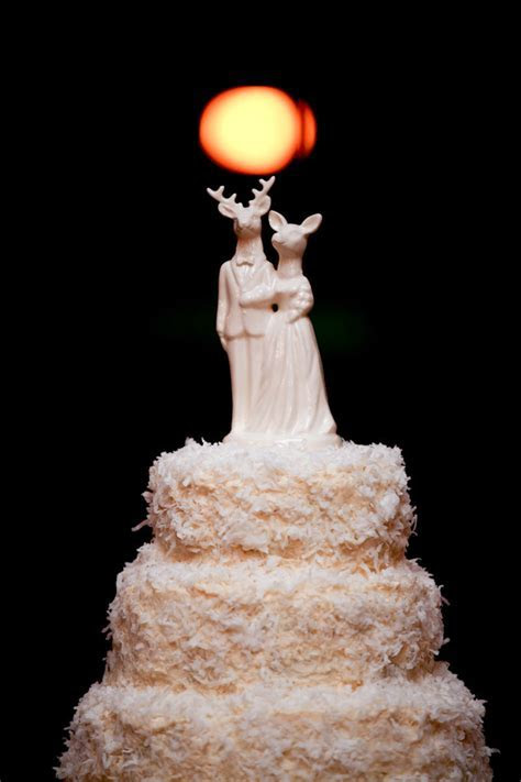 Whimsical wedding ideas unique cake toppers 1   OneWed.com