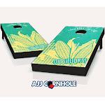 AJJCornhole 107-OhShucks Oh Shucks Theme Cornhole Set with Bags - 8 x 24 x 48 in.