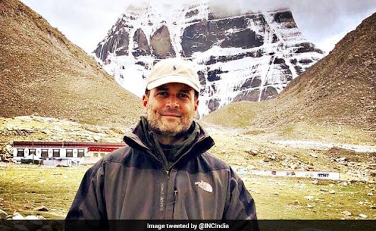 Kailash Mansarovar Yatra: Rahul Gandhi's First Pic From Kailash-Mansarovar. And Proof On Fitbit