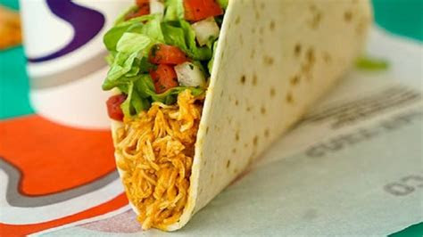 taco bell foods    pretty healthy