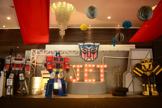 Jet's Transformers Themed Party – 7th Birthday - Party Doll Manila