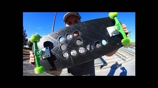 Braille Skateboarding Puts Our 3D Printed Skateboard Deck to the Test! - 3D Printing