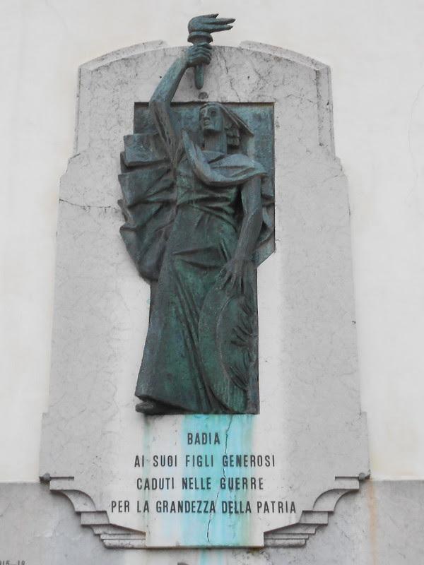 monumento ai caduti, Badia Polesine