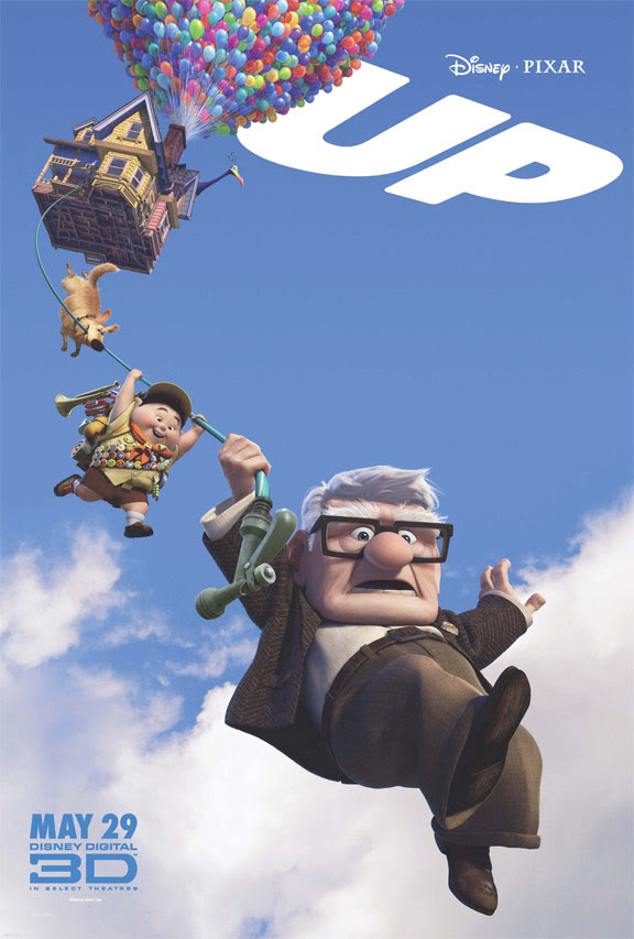 Disney/Pixar's Up theatrical poster [click to enlarge]