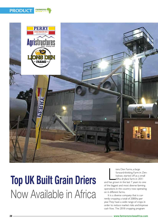 Farmers Review Africa May/June 2018 edition
