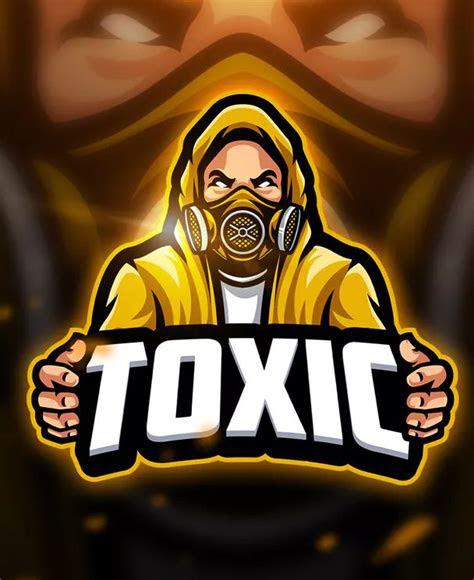 toxic  mascot esport logo template ai eps