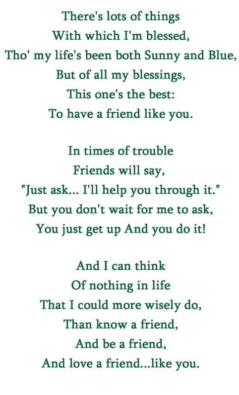 A Best Friend Like You Quotes