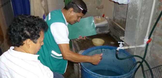 Barrio Los Guaduales respondió en jornada contra el dengue