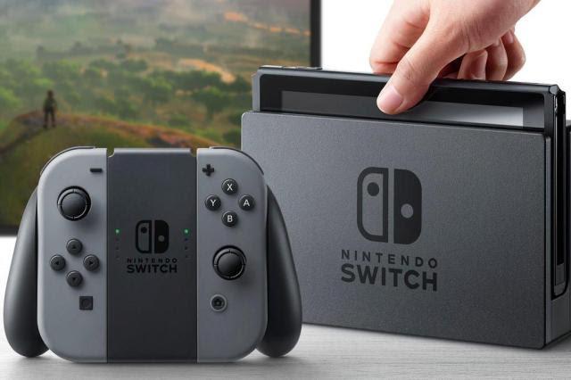 Nintendo apresenta Switch, novo videogame da empresa Nintendo/Divulgação