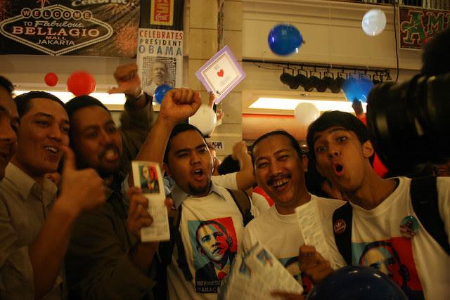 Indonesia's Obama Celebration by Daniel Giovanni