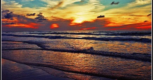 The sunsets in Israel are the best.. Ashdod - Israel