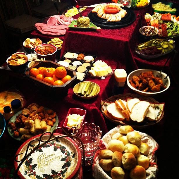 christmas feasting