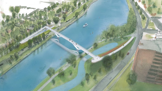 Federal, provincial politicians join local push for Rideau Canal pedestrian bridge