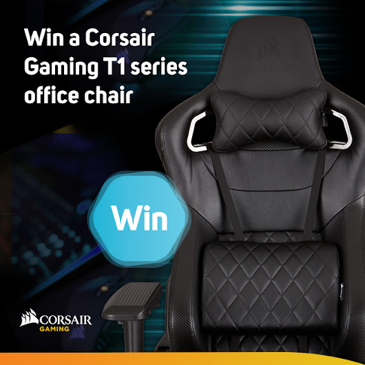 Scan Weekly Competition: Corsair T1 RACE gaming Chair worth £289.99