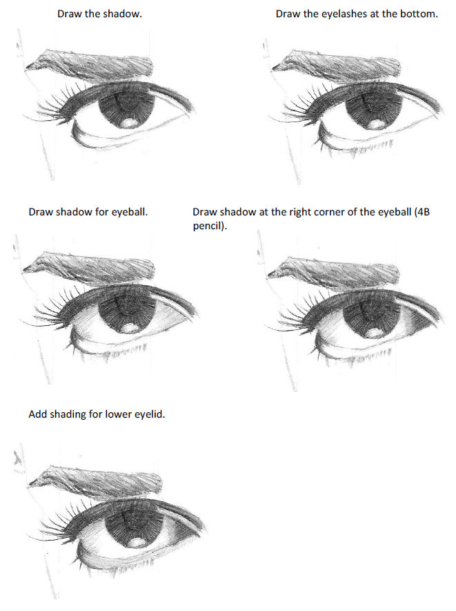 Eyebrow Drawing Easy Step By Step