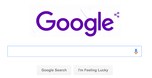 Google Honors Prince With Special Purple Rain Logo