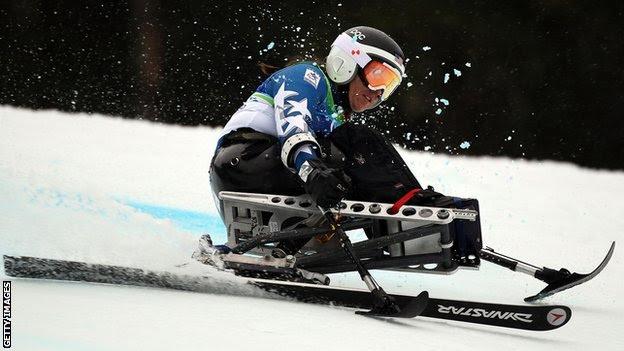 American skier Laurie Stephens