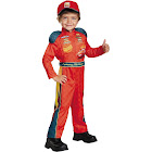 Disguise Lightning Mcqueen Classic Toddler Costume, Royal Blue/Scarlet