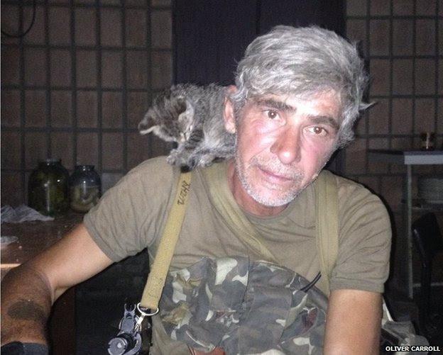 Chechen fighter Ruslan Arsayev