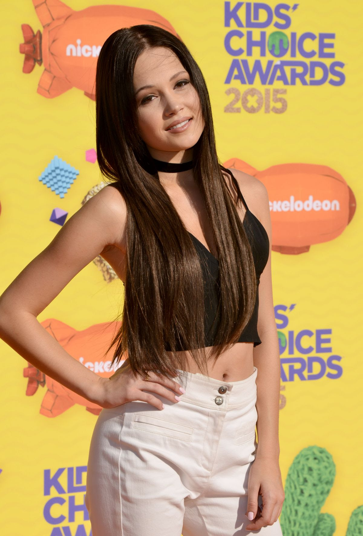 KELLI BERGLUND at 2015 Nickelodeon Kids Choice Awards in Inglewood