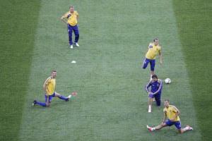 Украинці потренировались на Олимпийском