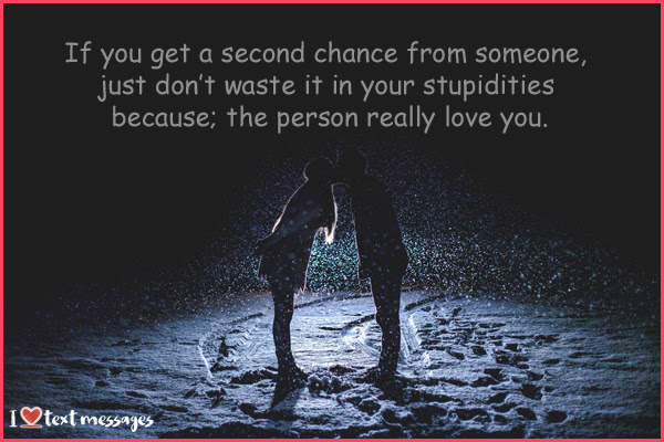 100 Second Chance Quotes In A Relationship Sayings For Him And Her