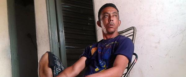 Francisco possui passagem por roubo, furto e é acusado de tráfico de drogas