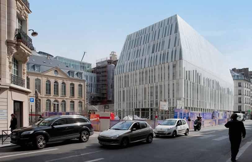 chaix morel siege banque postale paris Le siège de la banque postale rue de Sèvres à Paris fait peau neuve