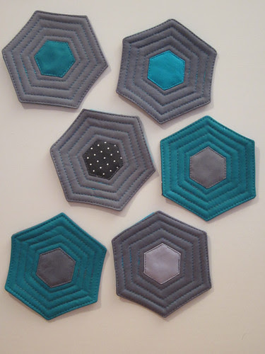 hexie coasters