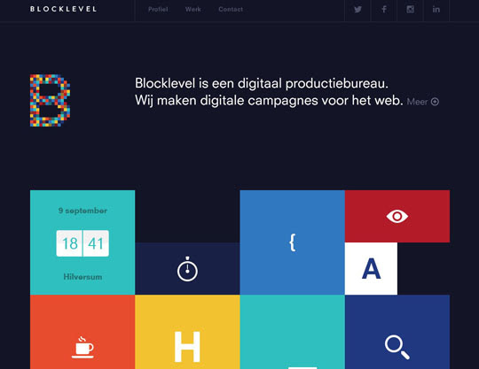 53.flat websites Beautiful Examples Of Flat Web Design