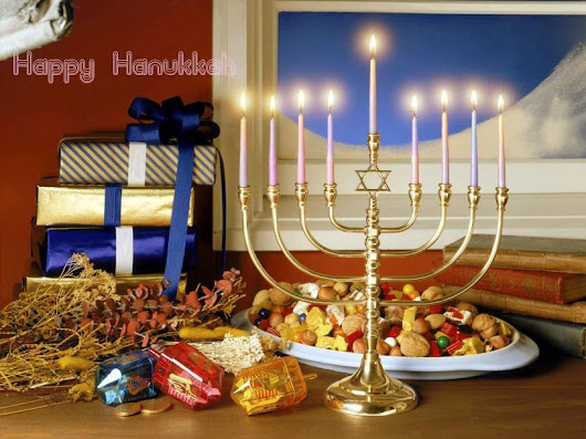 Happy Hanukkah ( Chanukah ) Everyone!!