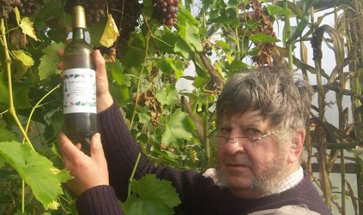 Man with a mission... to make wine in the Hebrides