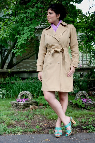 London Fog Trench
