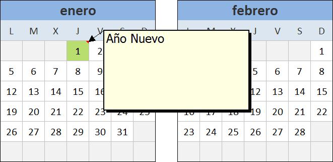 Calendario 2015 en Excel - Excel Total