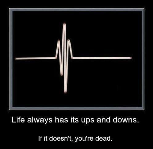 Life Is Full Of Ups And Downs Quote Quote Number 688109 Picture