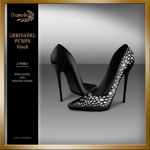 DANIELLE Christabel Pumps Black