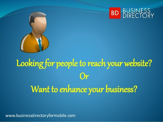 Business directory for mobile