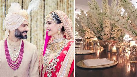 Sonam Kapoor & Anand Ahuja Wedding Decor: White and Gold Rule